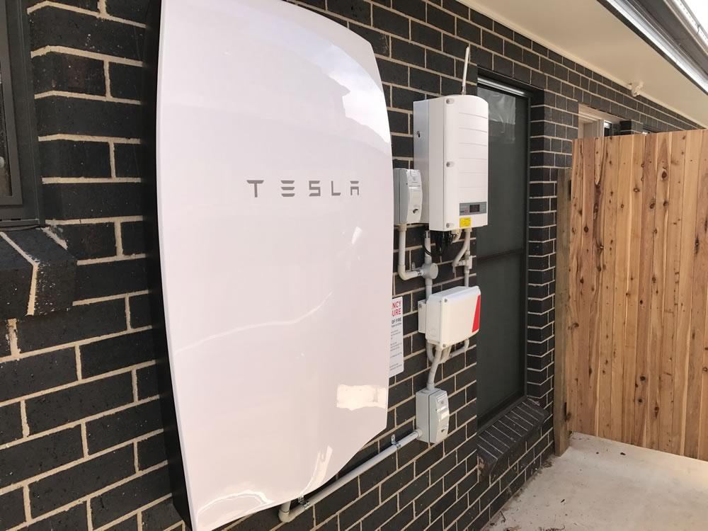 Rob Burrell Certified Tesla Powerwall Installers